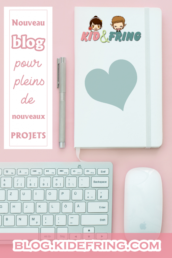 Image Pinterest - Nouveau blog pour pleins de nouveaux projets.